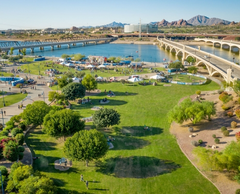 Tour de Fat in Tempe Arizona by Phoenix drone pilot Jason Koster FAA 107 certified