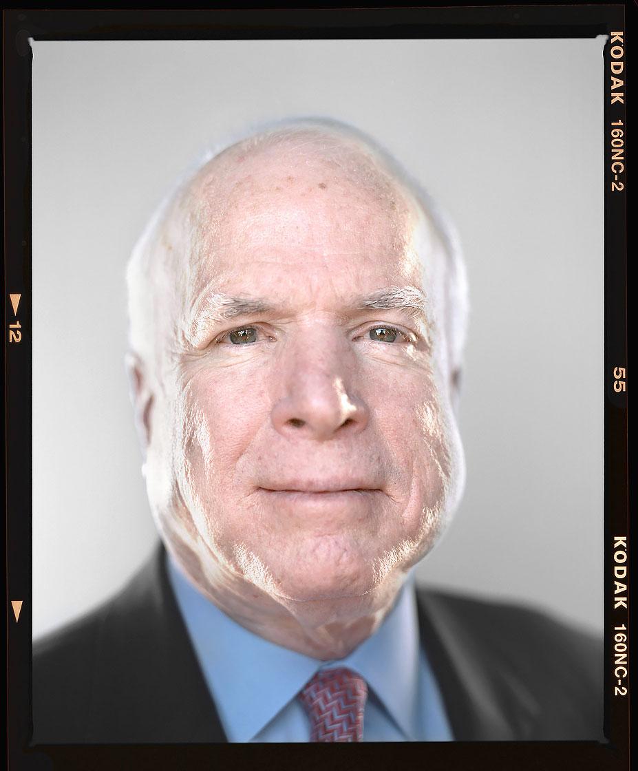 Editorial Photography Portrait of Arizona Senator John McCain by Phoenix commercial photographer Jason Koster.