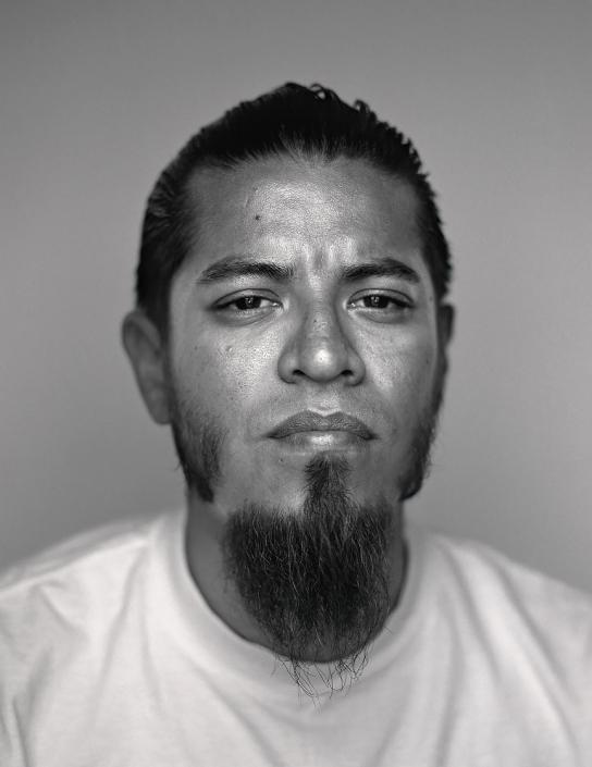 Black and white, Fine Art Portrait of a man named Jose at Viva Las Vegas by Phoenix commercial photographer Jason Koster.