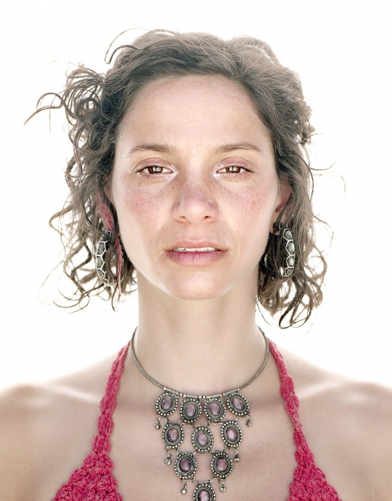 Color, Fine Art Portrait of a woman named Gabrielle at Burning Man by Phoenix commercial photographer Jason Koster.