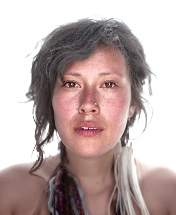 Color, Fine Art Portrait of a woman named Tatsiana at Burning Man by Phoenix commercial photographer Jason Koster.